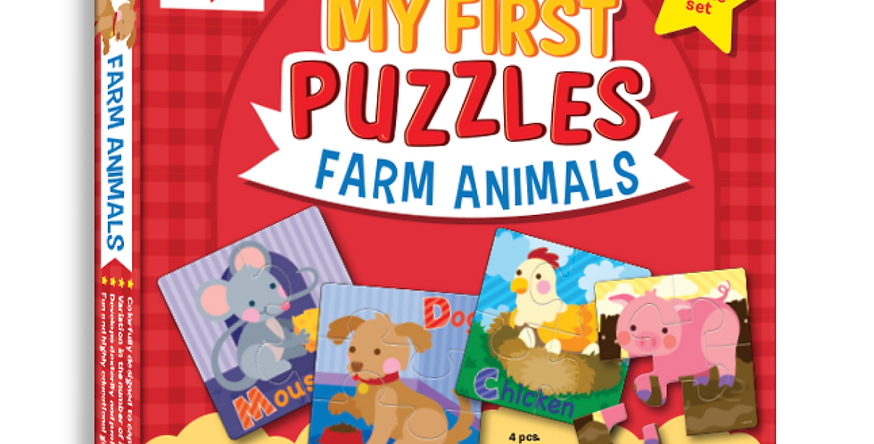 My First Puzzles - Farm Animals