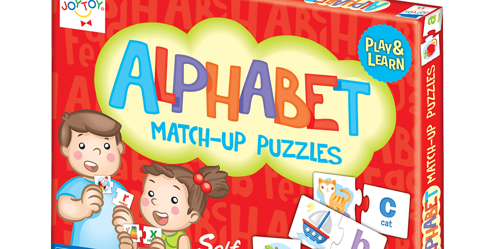 Alphabet Play & Learn Match-up Puzzles