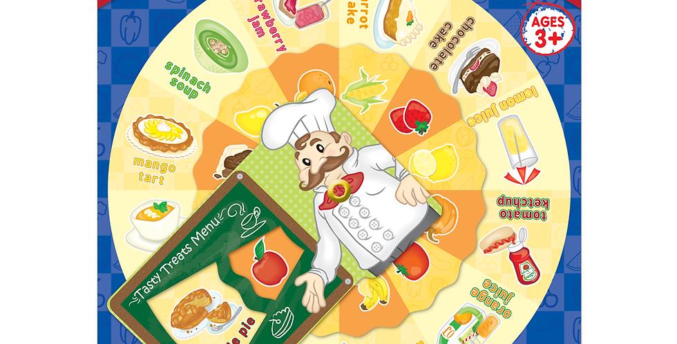 Tasty Treats Wheel Chart
