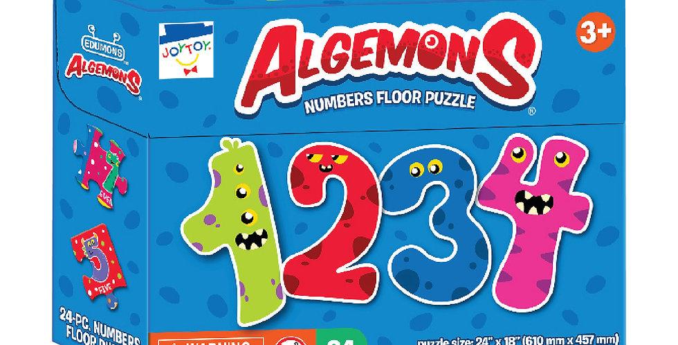 Algemons Numbers Floor Puzzle