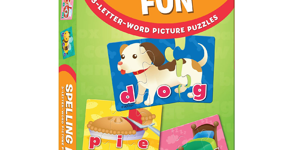 Spelling Fun 3-Letter Puzzles