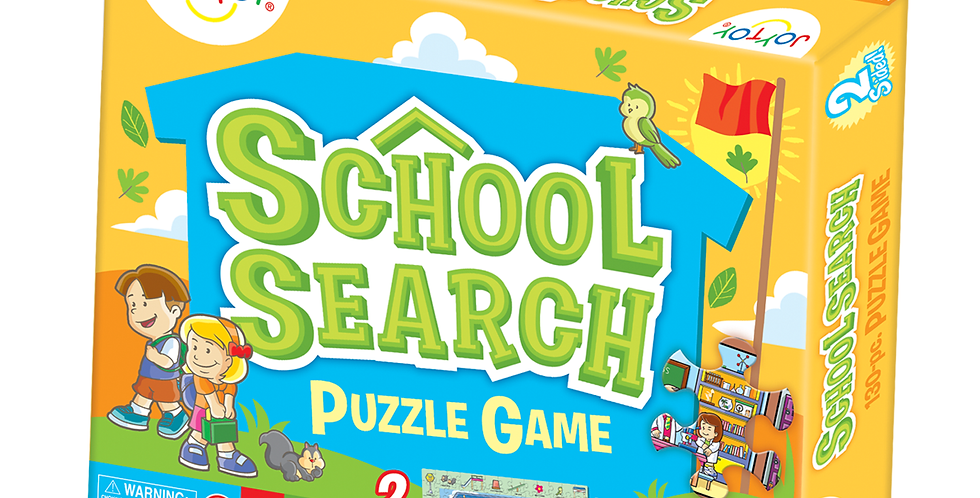 School Search 2-Sided Puzzle