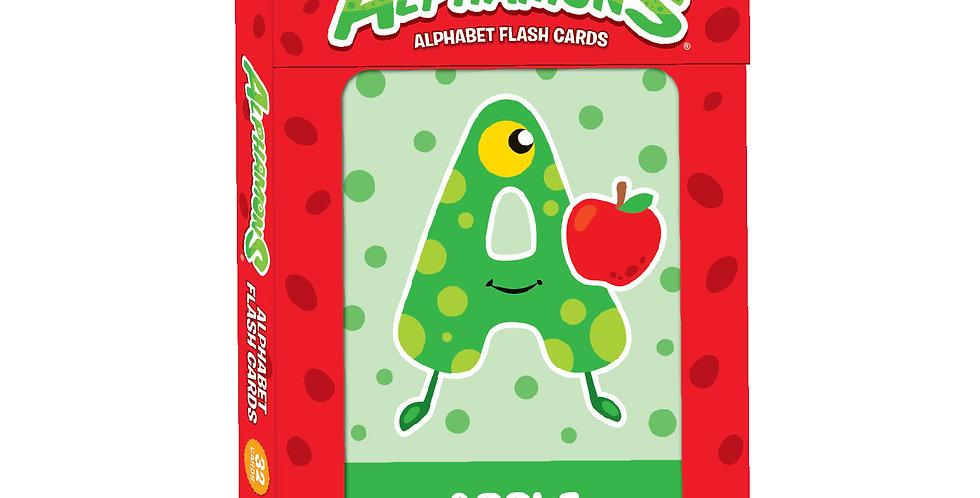 Alphamons Alphabet Flash Cards
