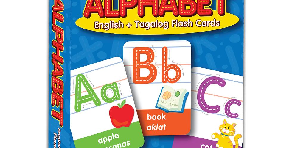 Alphabet Flash Cards (English + Tagalog)
