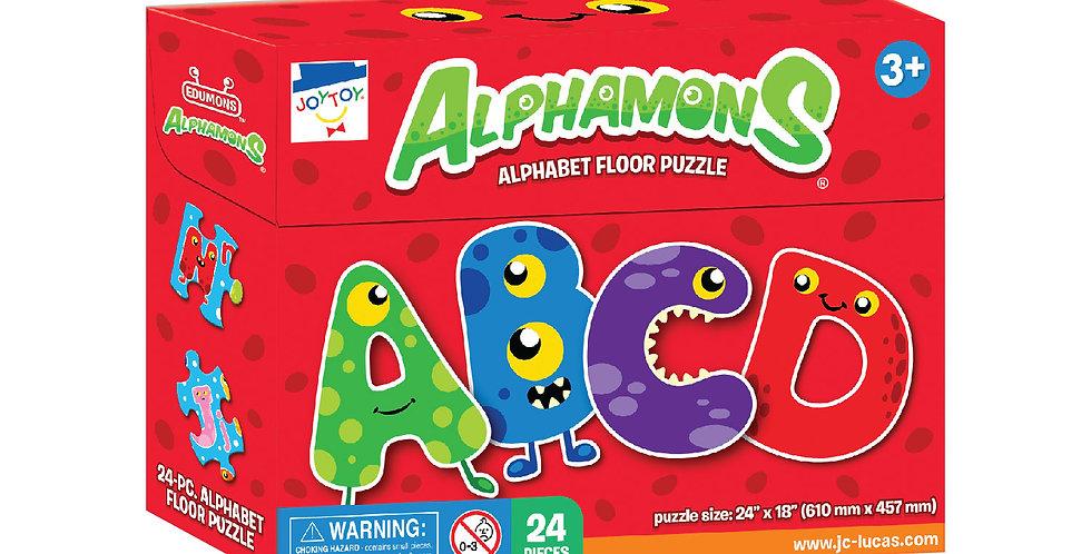 Alphamons Alphabet Floor Puzzle