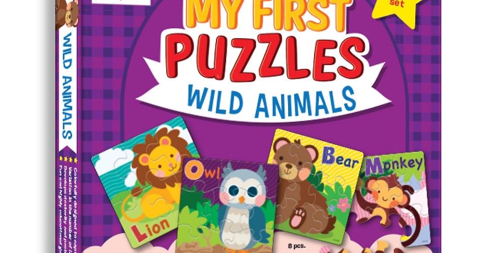 My First Puzzles - Wild Animals