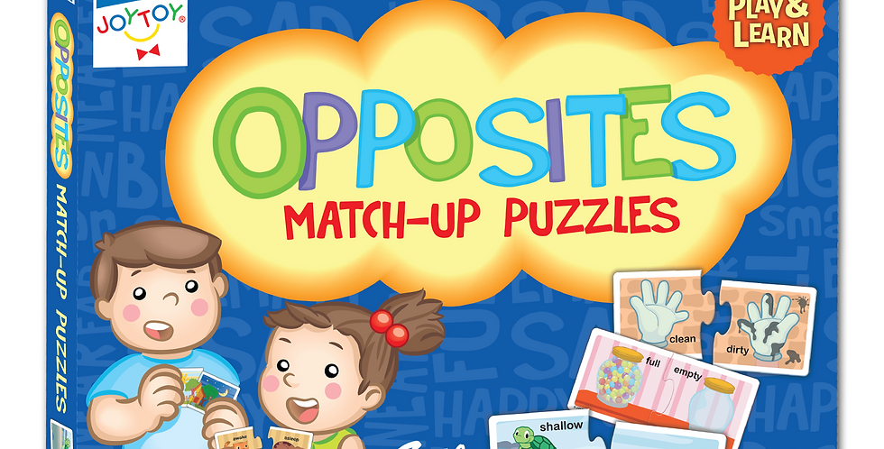 Opposites Match-up Puzzles