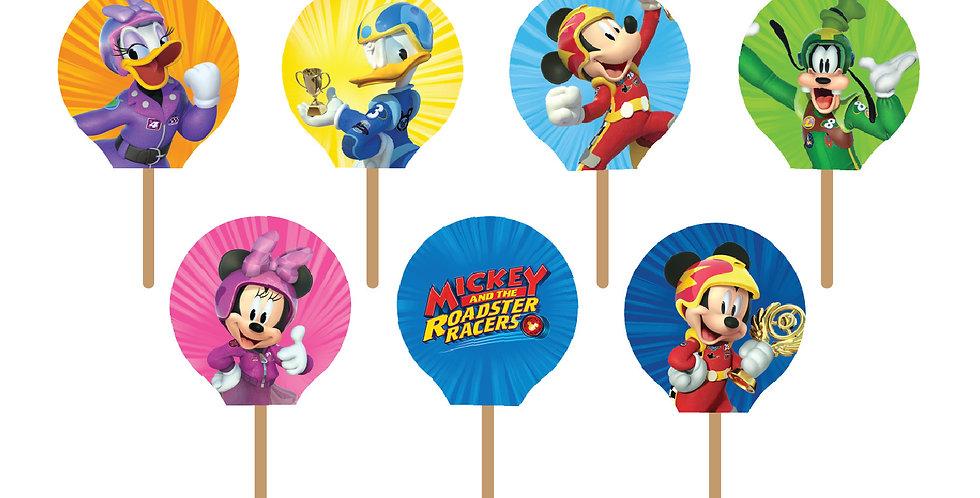 Mickey Mouse Party Picks (18 pcs.)