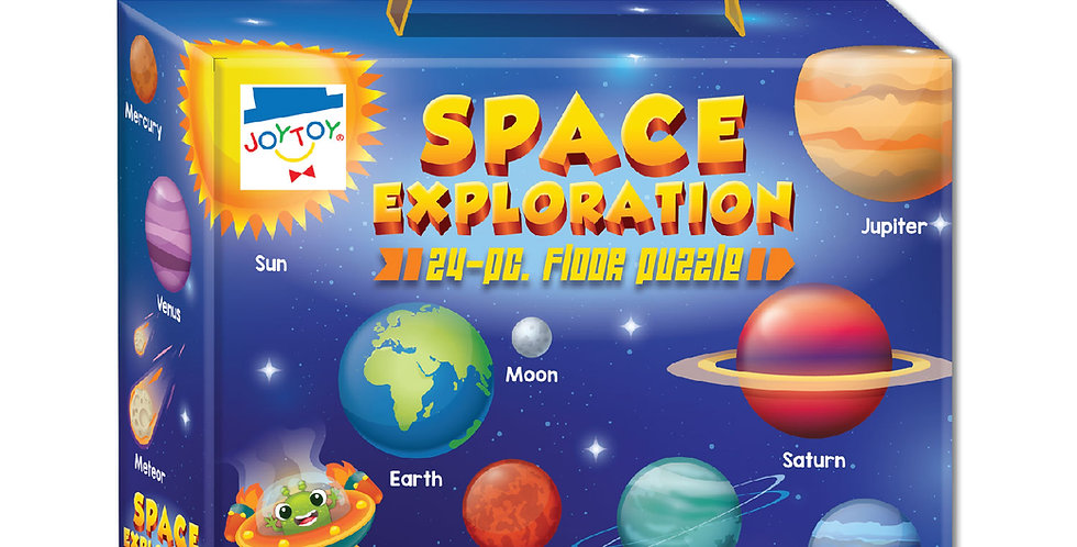 Space Exploration 24-pc. Floor Puzzle