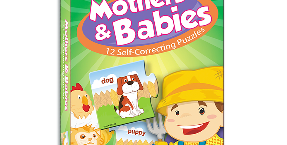 Mothers & Babies Self-Correcting Puzzles