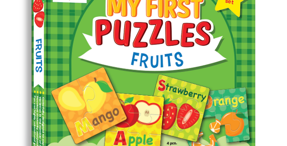 My First Puzzles - Fruits