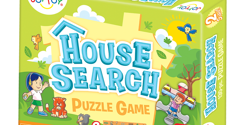 House Search 2-Sided Puzzle