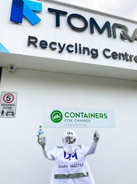 Astro gains money from recycling 10c bottles at TOMRA Recycling Centre