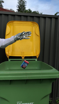 Astro does at-home recycling