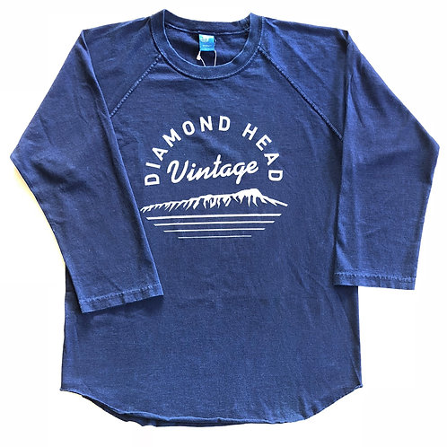 Diamond Head Vintage Original Base ball T- Shirts