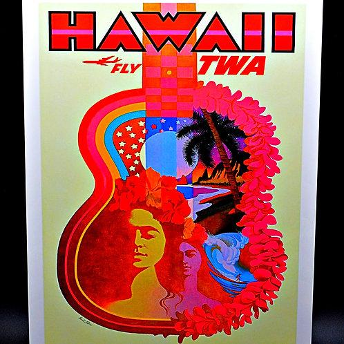 Vintage Hawaii Poster