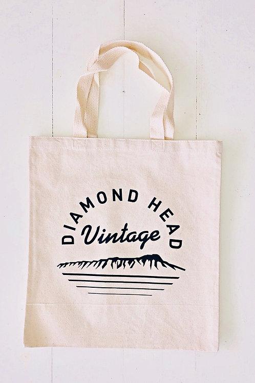 Diamond Head Vintage Original Tote Bag