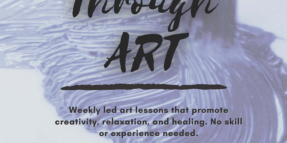 Healing Through Art: Sexual Assault Support Group