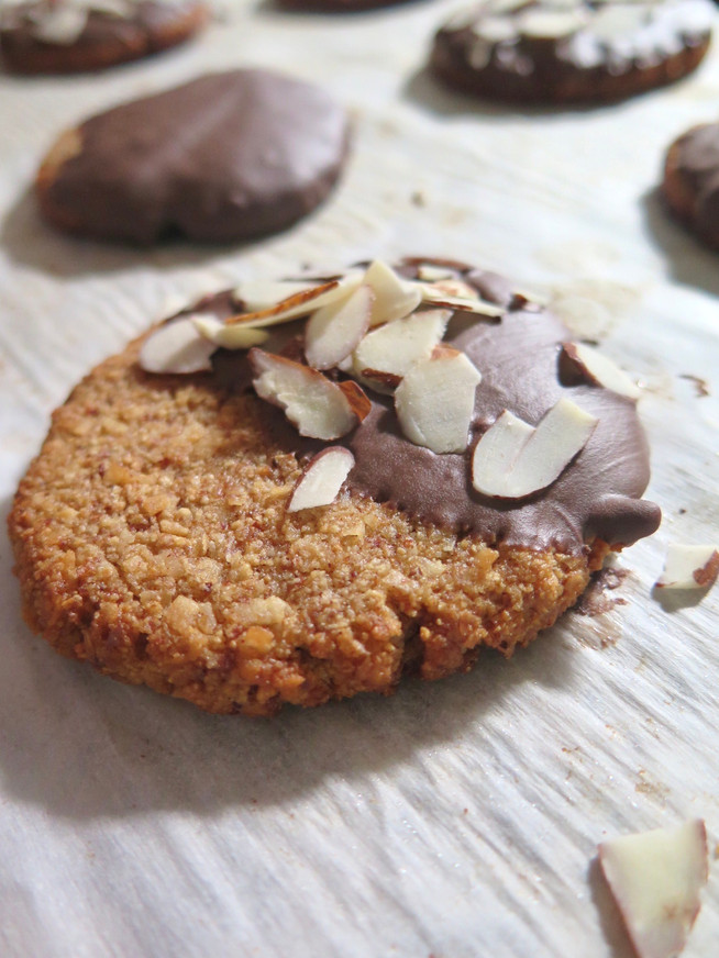 Almond Meal Coconut Cookies