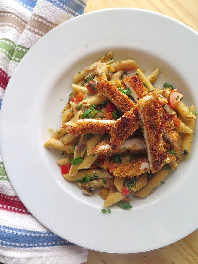 Cajun Penne with Chicken