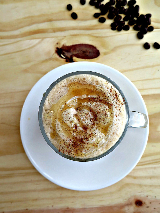 Honey Cinnamon Latte