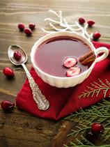 Spiced Cranberry Orange Tea