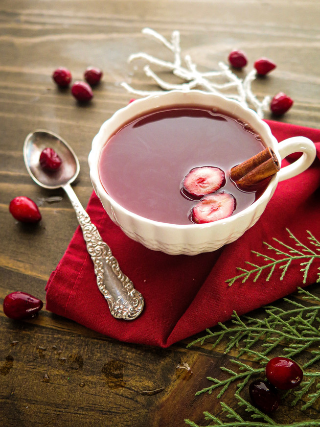 Spiced Cranberry Orange Tea