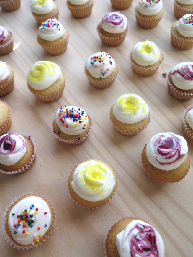 Mini Celebration Cupcakes