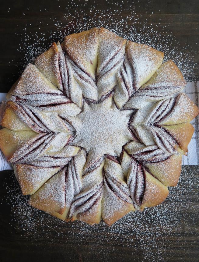 Twisted Star Sweet Bread