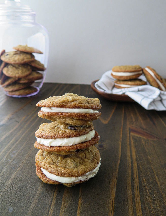 Cranberry Cookie Sandwiches
