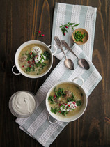 Creamy White Bean and Sausage Soup