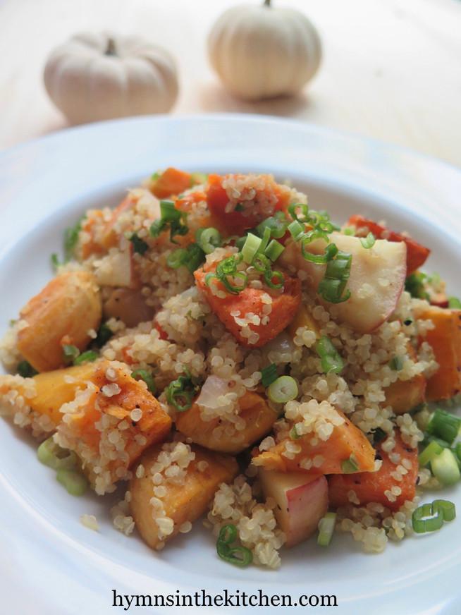 Fall Vegetable Quinoa Salad