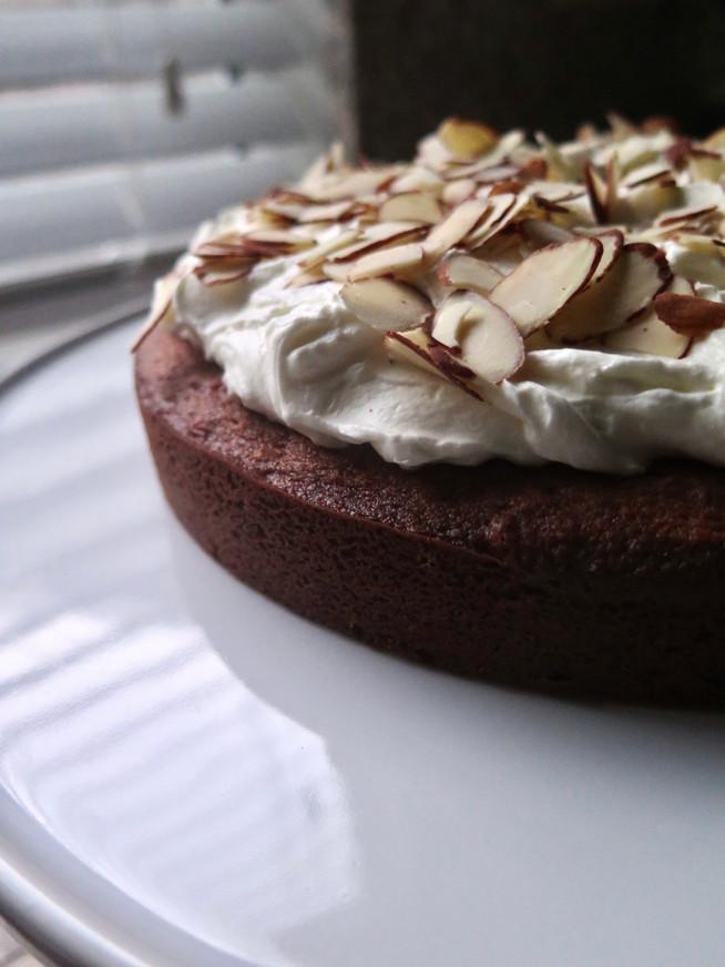 Coconut Cake with Lemon Whipped Cream
