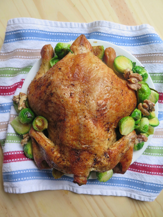 Simple Oven Roasted Chicken