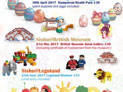 Sishu Summer Events 2017