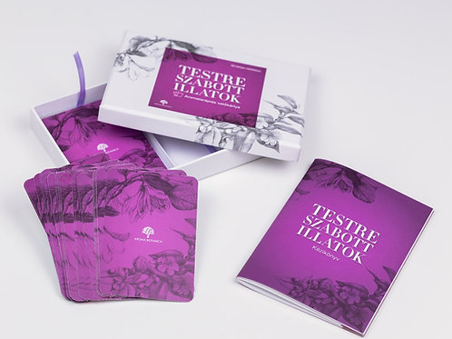Testreszabott illatok - aromaterápiás vetőkártya 4. KIBŐVÍTETT KIADÁS