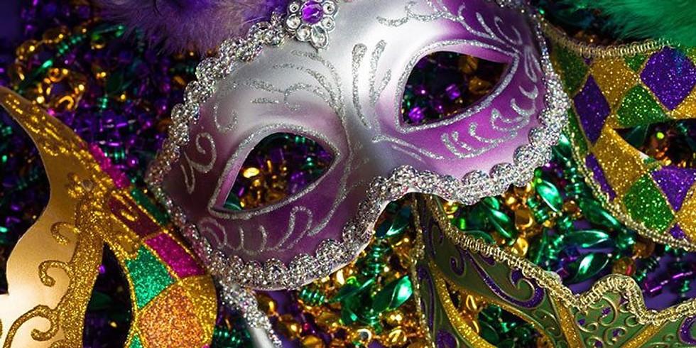Mardi Gras Themed Friday Night Social