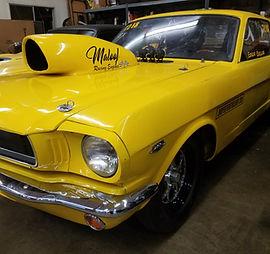 1965 Mustang Dragcar