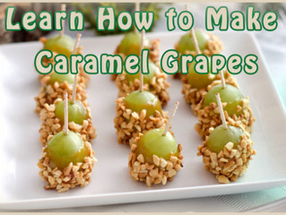 Learn How to Make Caramel Grapes