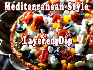 Mediterranean-Style Layered Dip
