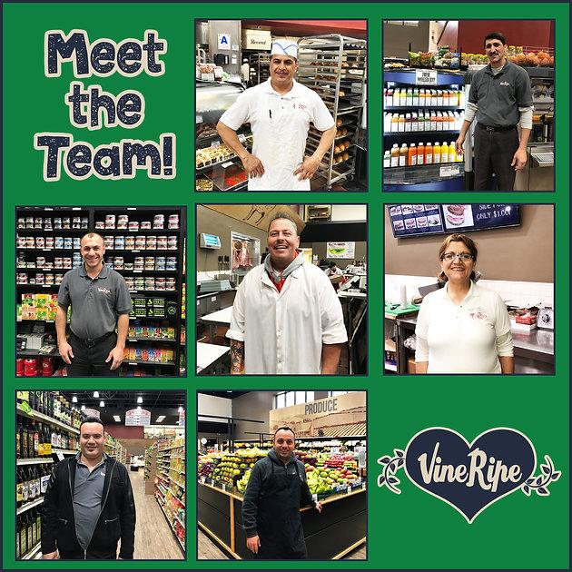 Meet the Vine Ripe Team!