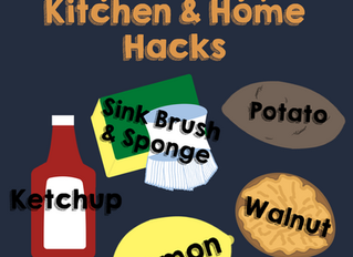 Simple & Helpful Kitchen and Home Hacks