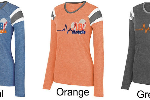 Heart Beats-Ladies Fanatic Long Sleeve