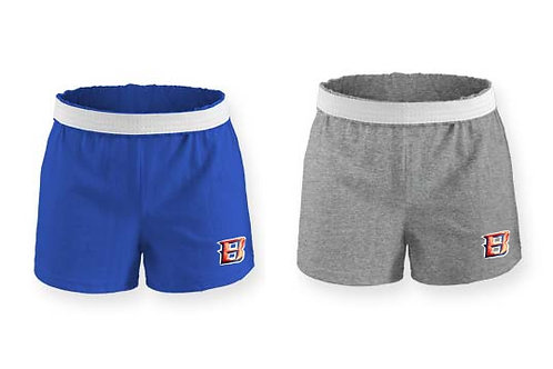 Badger B Embroidery- Ladies/Girls Soffe Shorts