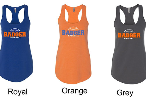 Badger Baseball- Ladies Tank