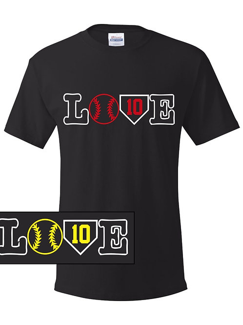 Elwood LOVE Design-Adult/Youth  T-shirt