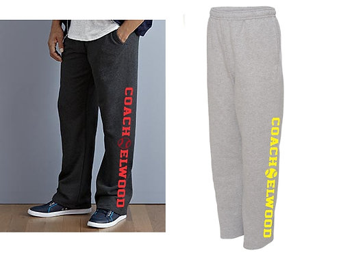 Coach Elwood Sweatpants Pocket Open Bottom