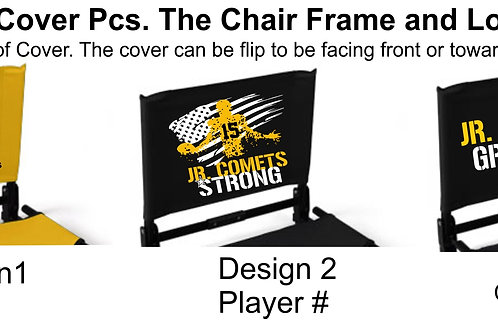 Stadium Chair® Top Cover ONLY