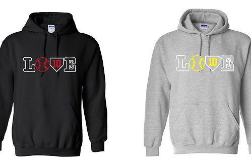 LOVE Design -Adult/Youth Hoodie