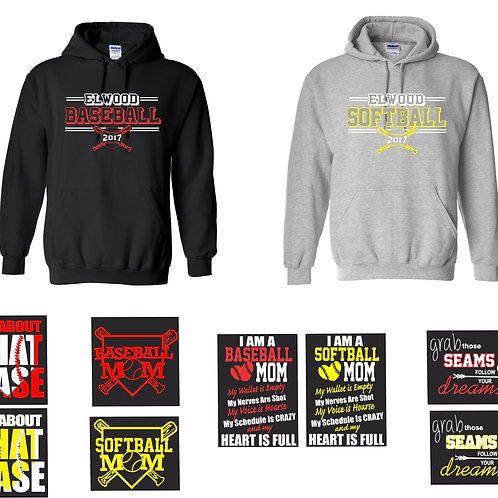 Design A w/Back Option-Adult/Youth  Hoodie